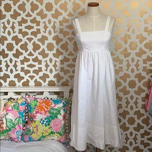 Brand New Banana Republic White Cotton Dress Sz 2